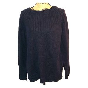 Dark navy sweater